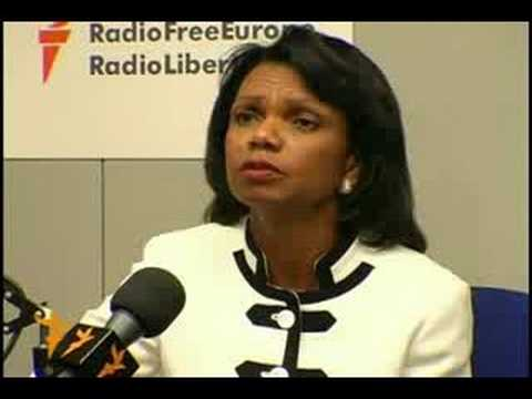 RFE/RL Interview with Condoleezza Rice (in Russian)