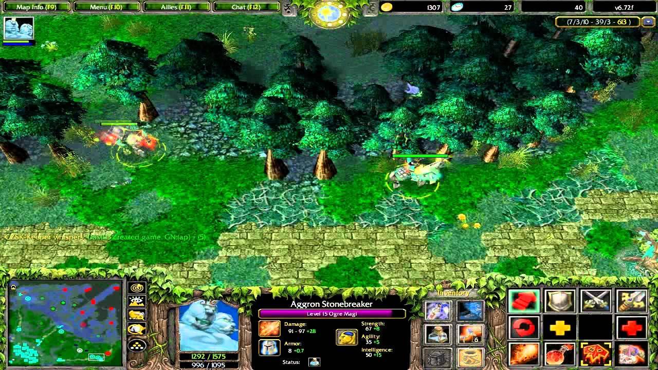 Lets Play DOTA Match Ogre Magi Gameplay V672f YouTube