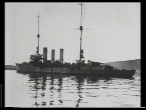 Scapa Flow Scuttling of German Fleet 1919 - part 1