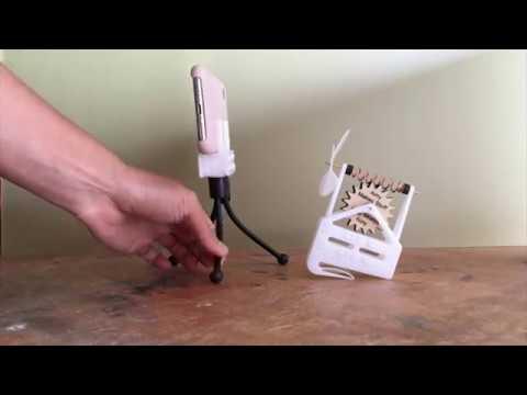 laser-cut snap-lock assembly