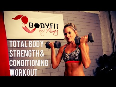 35 Minute Total Body Strength and Conditioning
