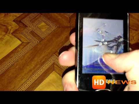 Краш-тест Samsung GT-S3370 (HD-News)