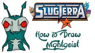 How To Draw Nightgeist (SLUGTERRA)