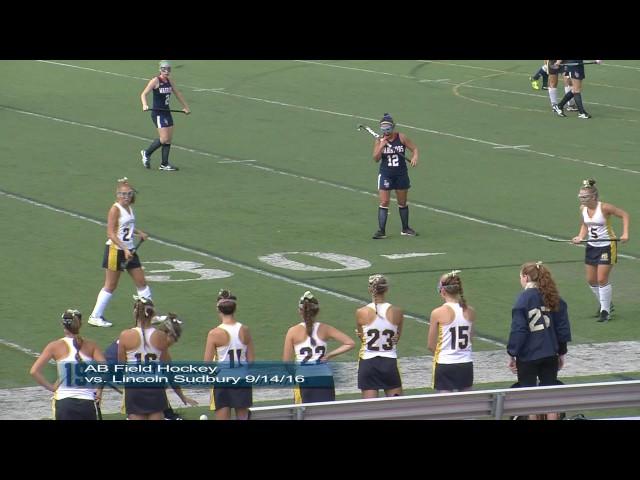 Acton Boxboroug Field Hockey vs LS 9/14/16