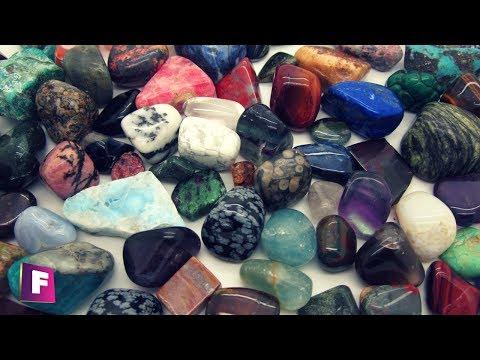 Colección de Piedras Semipreciosas y Gemas 💎 de Referencia en 360º