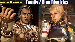 Family & Clan Rivalries (Relationship Dialogues) - Mortal Kombat 11