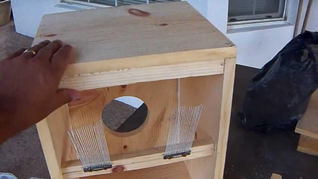 DIY Home made cajon drum - YouTube