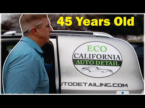 SHOCKED At How Much He Makes In His Car Detailing Business At 45 Years Old