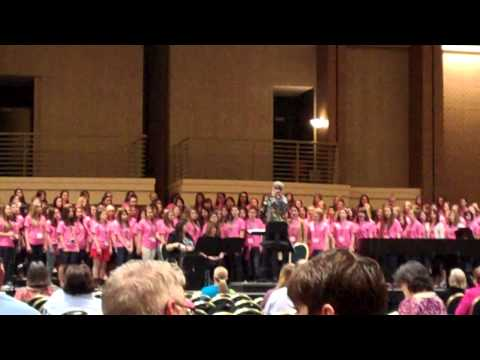 She Who Makes Her Meaning Clear - National Honor Choir, Dallas 2013