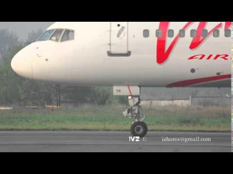 Boeing 757 VIM Airlines closeup