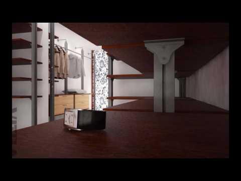 интерьерная гардеробная система aristo