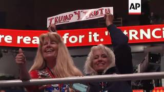 Raw: RNC Showcases Colorful GOP Merchandise