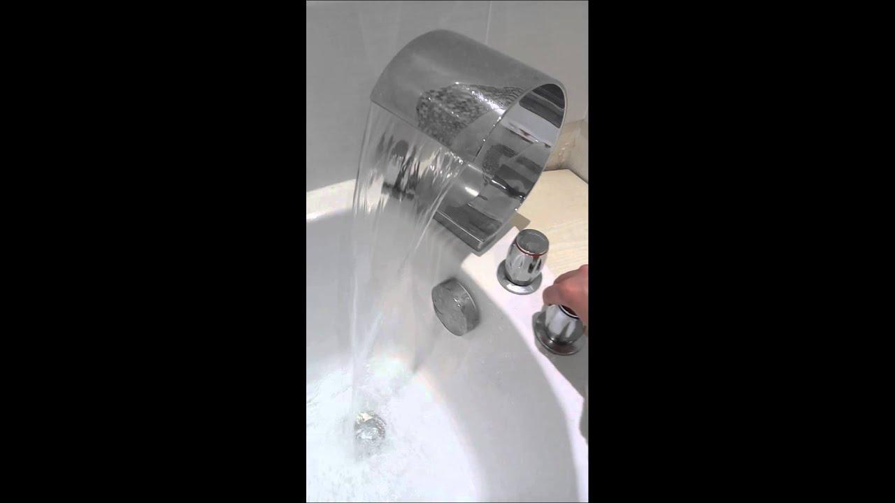 Robinet cascade baignoire  YouTube