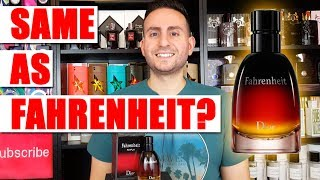 Christian Dior Fahrenheit Le Parfum Fragrance / Cologne Review
