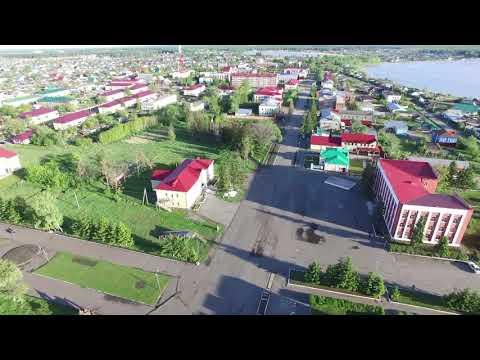 Мой Тюкалинск видео с квадролёта