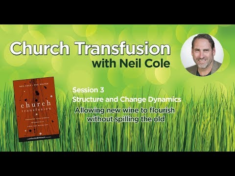 Church Transfusion - Session 3 of 4   Structure and Change Dynamics   Neil Cole