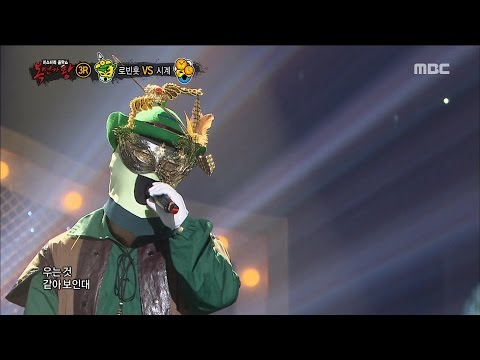 [King of masked singer] 복면가왕 - 'Robin hood of justice' 3Round - As I live 20160925
