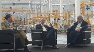 Dibattito Storchi - Poletti presso Comer Industries