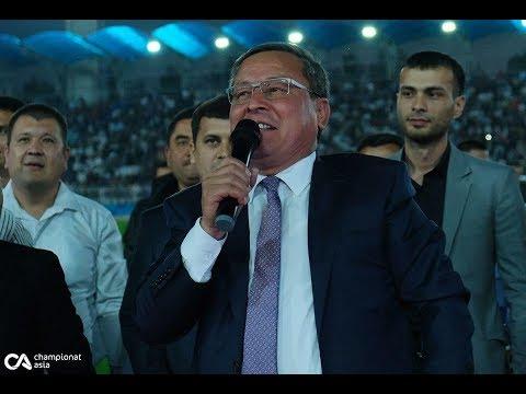 """Andijon viloyati hokimi """"Andijon"""" futbol klubini keskin tanqid qildi"""