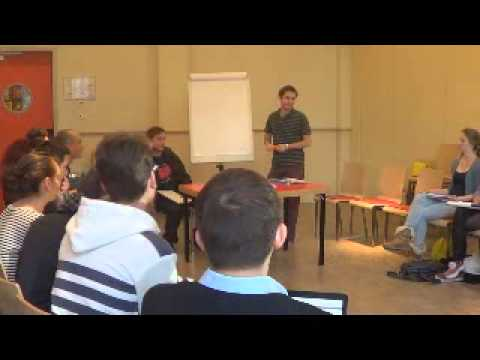 Debate@Europe 2012 Final Event - Workshop on Argumentation (Borna Sor and George Trigatzis)