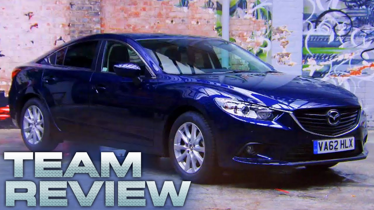 Mazda 6 (Team Review)   Fifth Gear   YouTube