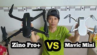 So sánh Zino pro + VS Mavic Mini - KimGuNi