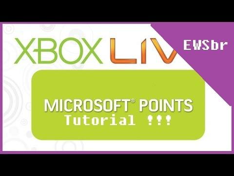 Comprando jogos e microsoft points na live