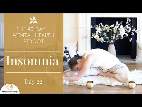 Cure Your Insomnia Yoga for Mental Health Day 22 with Mariya Gancheva