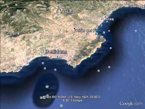 Google Earth Map Of Spain.Google Earth Pro Hd Video From Space To Spain Youtube