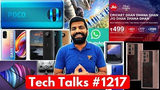 Tech Talks #1217 - Poco X3 Launch, Folding iPhone 12, M51 Leaks, Galaxy Note End?, Jio Special Offer