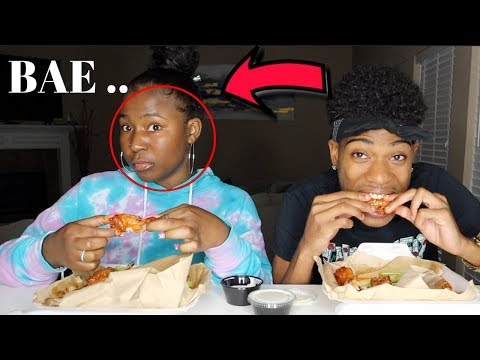 MUKBANG... DID I CALL TRAY BAE ... | IAMJUSTAIRI