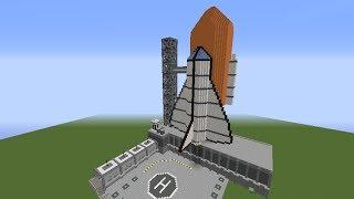 Construction de fou Minecraft Navette spaciale