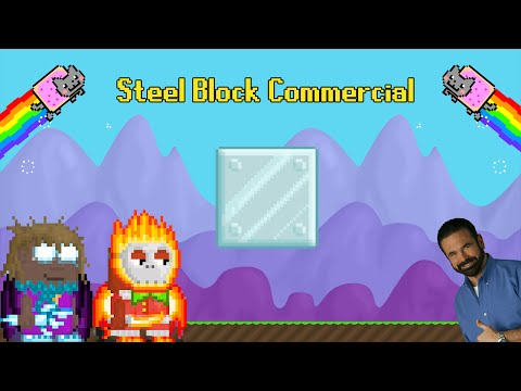 GrowNoobShow | Steel Block Commercial | Growtopia