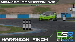 iRacing | McLaren MP4-12C GT3 @ Donington GP | Lap Record