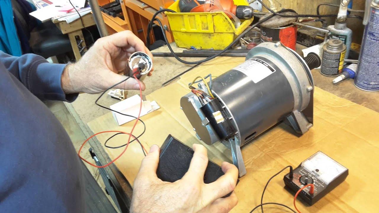 Electrical troubleshooting Shopsmith Mark V motors  YouTube