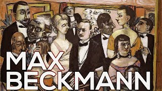 Max Beckmann: A collection of 67 paintings (HD)
