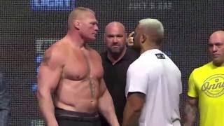 UFC 200: Lesnar vs Hunt and Tate vs Nunes Face Offs