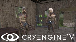 Cryengine V/5#68 Создание собственного персонажа на базе встроенного скелета