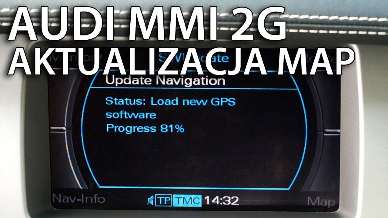 aktualizacja map w audi mmi 2g a4 a5 a6 a8 q7 update. Black Bedroom Furniture Sets. Home Design Ideas