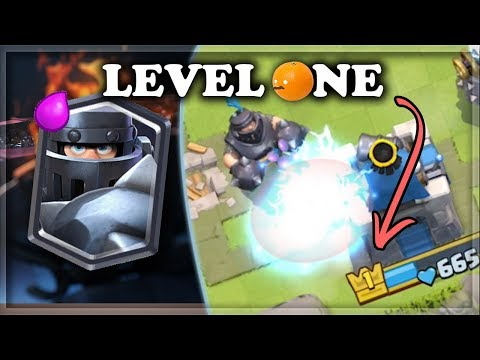 Level 1 Account with All Legendary Deck  Clash Royale