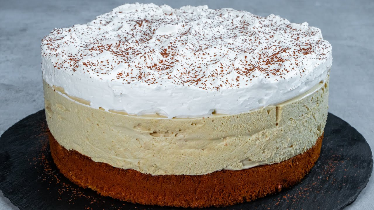 Cappuccino is not just a drink! 6 sachets for the most fluffy and flavored cake!