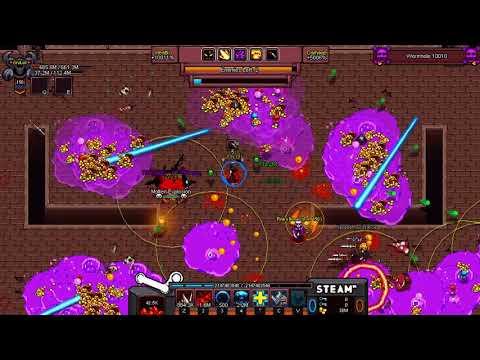 Hero Siege - Demonspawn - Wormhole 10000+ Speedrun - Gear/Talents