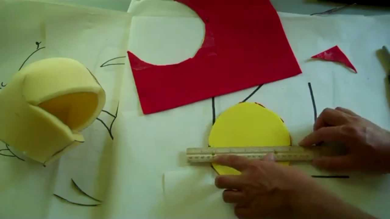 Timmy\'s Vlog # 94 - Make A Foam Puppet Head In Ten Minutes - YouTube