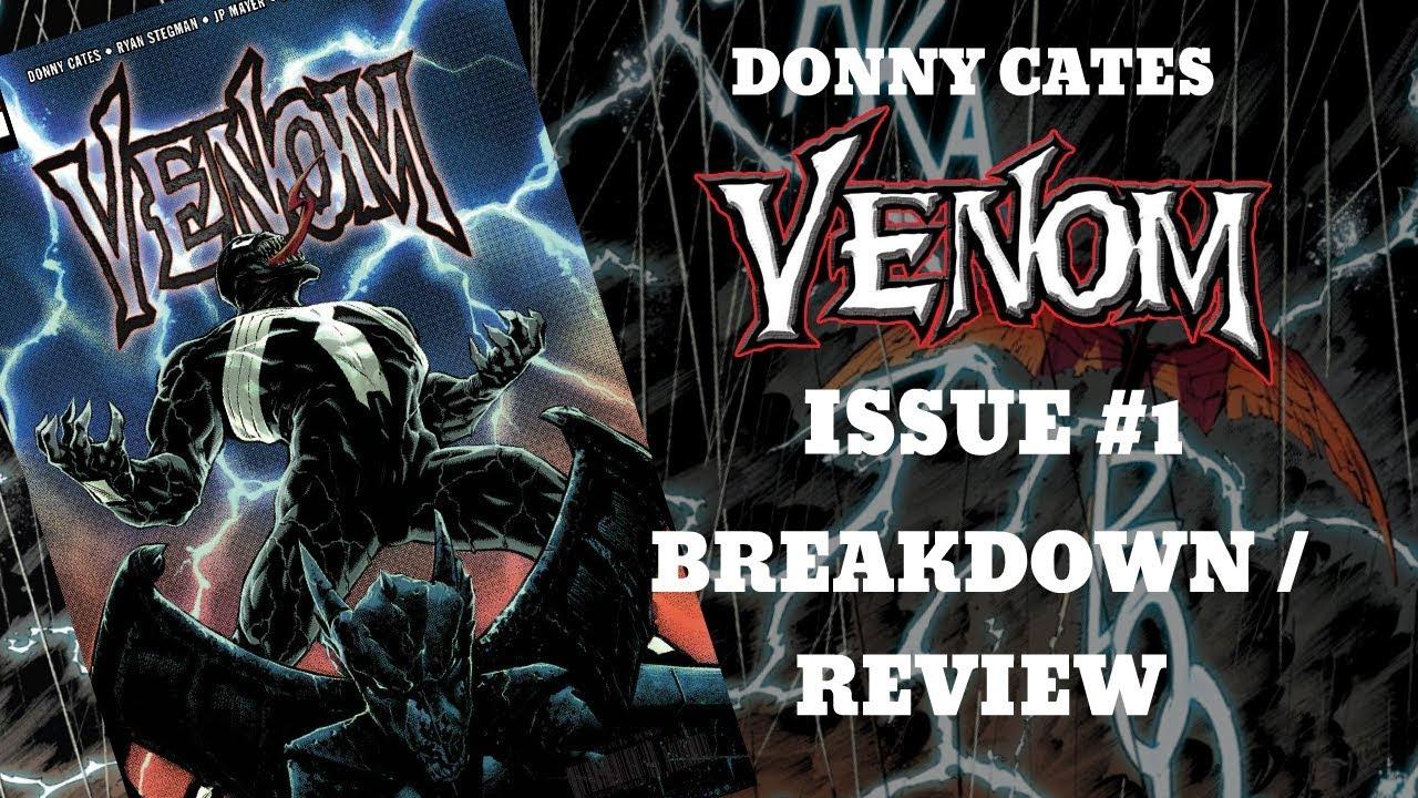 VENOM #1 (DONNY CATES) BREAKDOWN / REVIEW