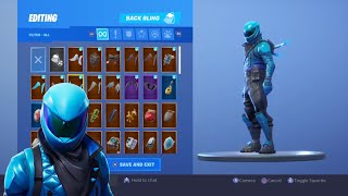 *NEW* HONOR GUARD SKIN Showcased With 125+ BACK BLINGS! Fortnite Battle Royale(HONOR GUARD COMBOS)