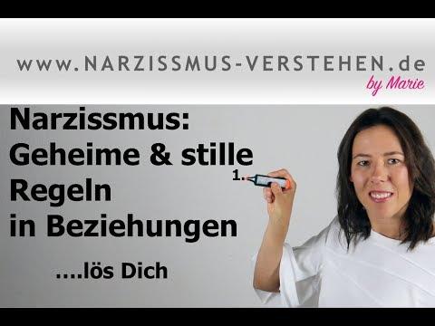 Narzissmus: Geheime & unausgesprochene Regeln in Beziehungen ..löse Dich!
