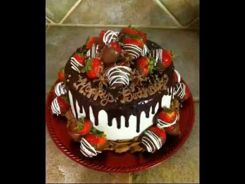 Chocolate Birthday Cake Happy Birthday Wishing Beautiful Youtube