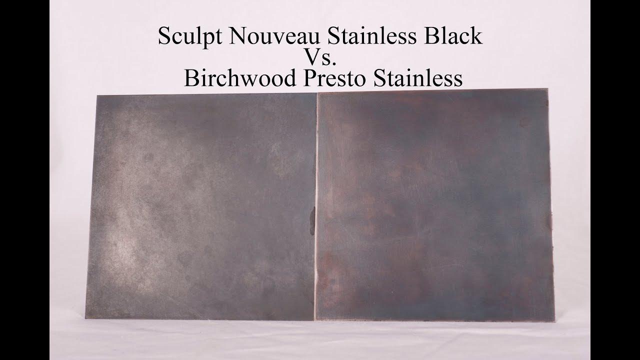 Black Vs Birchwood Presto Stainless