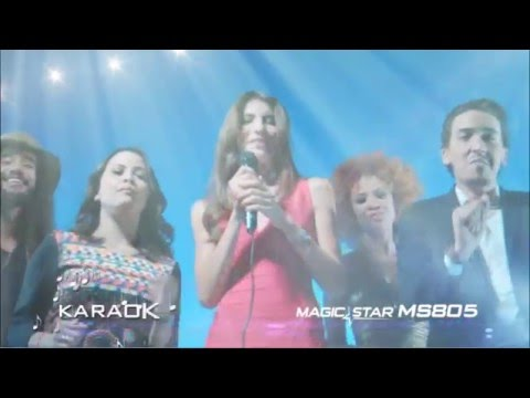 """MAGICSTAR MS805 """"The One and Only Arabic Karaoke"""""""