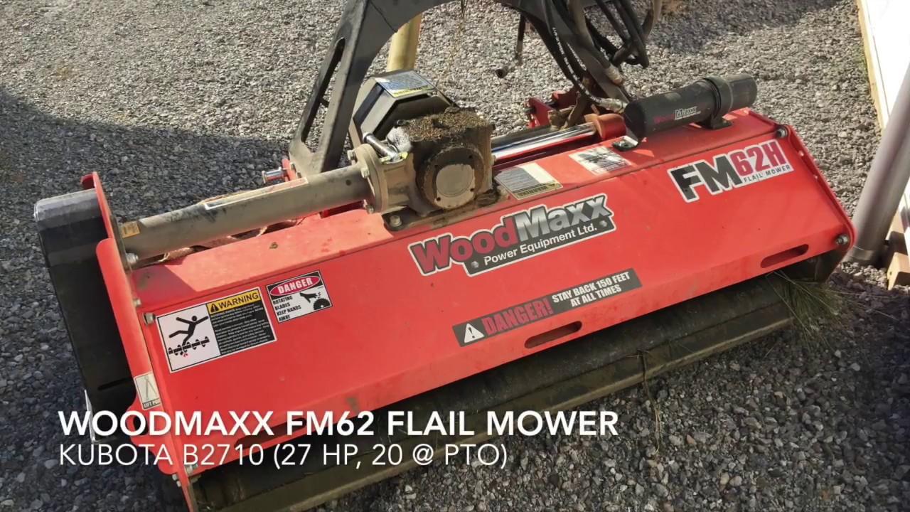 Woodmaxx Flail Mower First Impressions